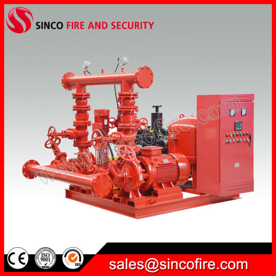 Diesel Eengine Circulation End Suction Fire Fighting Centrifugal Water Pump