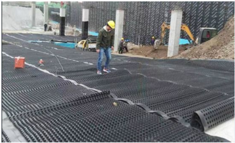 Building Construction Materials Green Roof Plastic Drainage Sheet