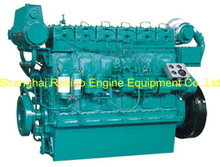 223HP 850RPM Weichai medium speed marine diesel engine (R6160ZC223-5)