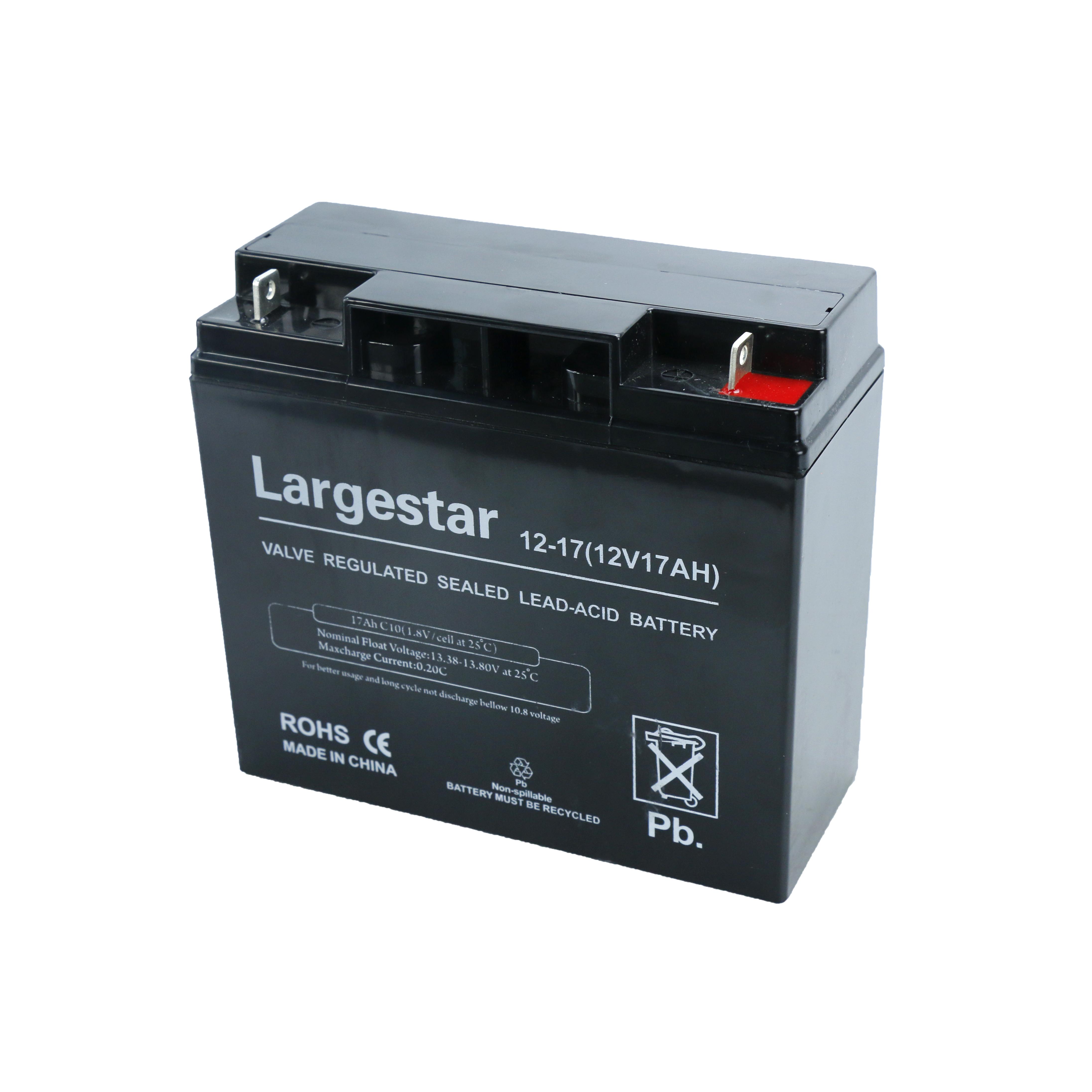 12V 17Ah Sealed Lead Acid VRLA Backup UPS Telecom Battery