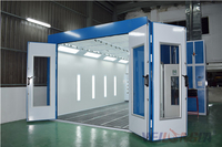 Car Paint Spray Booth Erected In Malaysia