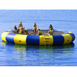 Big Inflatable Water Trampoline Jumping Matt for Water Games
