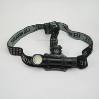 Magnetic Charging Aluminum 600 Lumen Cool White Light Headlight