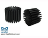 EtraLED-LUM-7050 for LumiLEDs Modular Passive Star LED Heat Sink Φ70mm