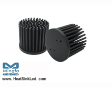 GooLED-5850 Modular Passive LED Pin Fin Heat Sink Φ58mm