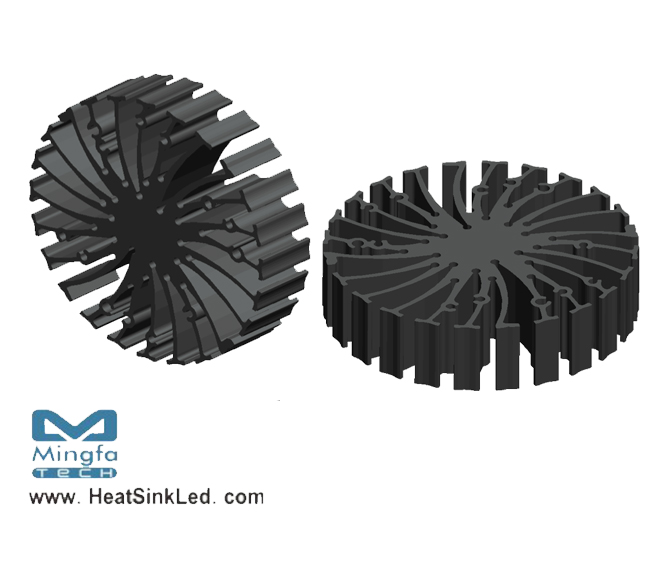 EtraLED-LUN-8520 for Luminus Xnova Modular Passive LED Cooler Φ85mm