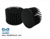 GooLED-VOS-7850 Pin Fin Heat Sink Φ78mm for Vossloh-Schwabe