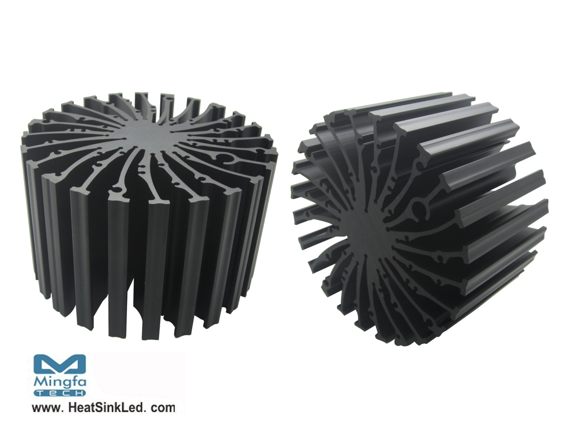 EtraLED-LUM-13080 LumiLEDs Modular Passive Star LED Heat Sink Φ130mm