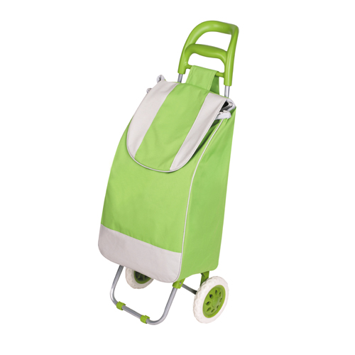 Promotional Cheap Shopping Bag 600D Oxford Portable Shopping Cart