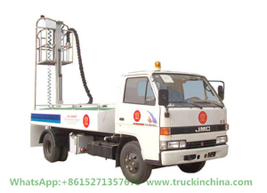 Jmc Aircraft Lavatory Service Truck Clean Water Tank 1200L Sewage Tank 3000L (Aircraft Sewage Tanker With Vacuum Pump Electric Diesel Vehicle)