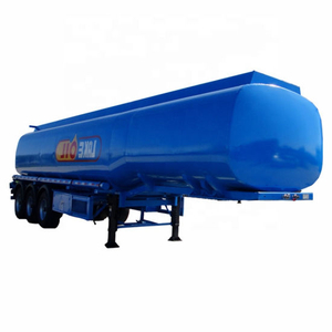 42000L Fuel Tank Trailer (Steel Fuel Tanker Semi-Trailer 3 Axles, 45000L to 54000L)
