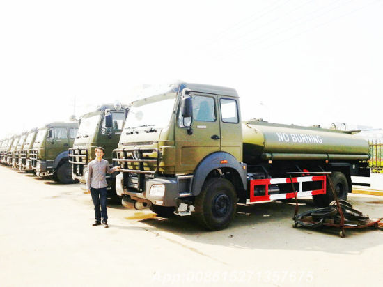 Beiben 6X6 All Wheel Drive Military Fuel Tanker 12000L~18000L for Sale
