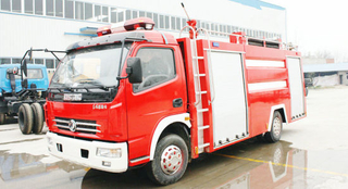 Dongfeng 4X2 3000L ~4000L Small Water Fire Fighting Truck Sale