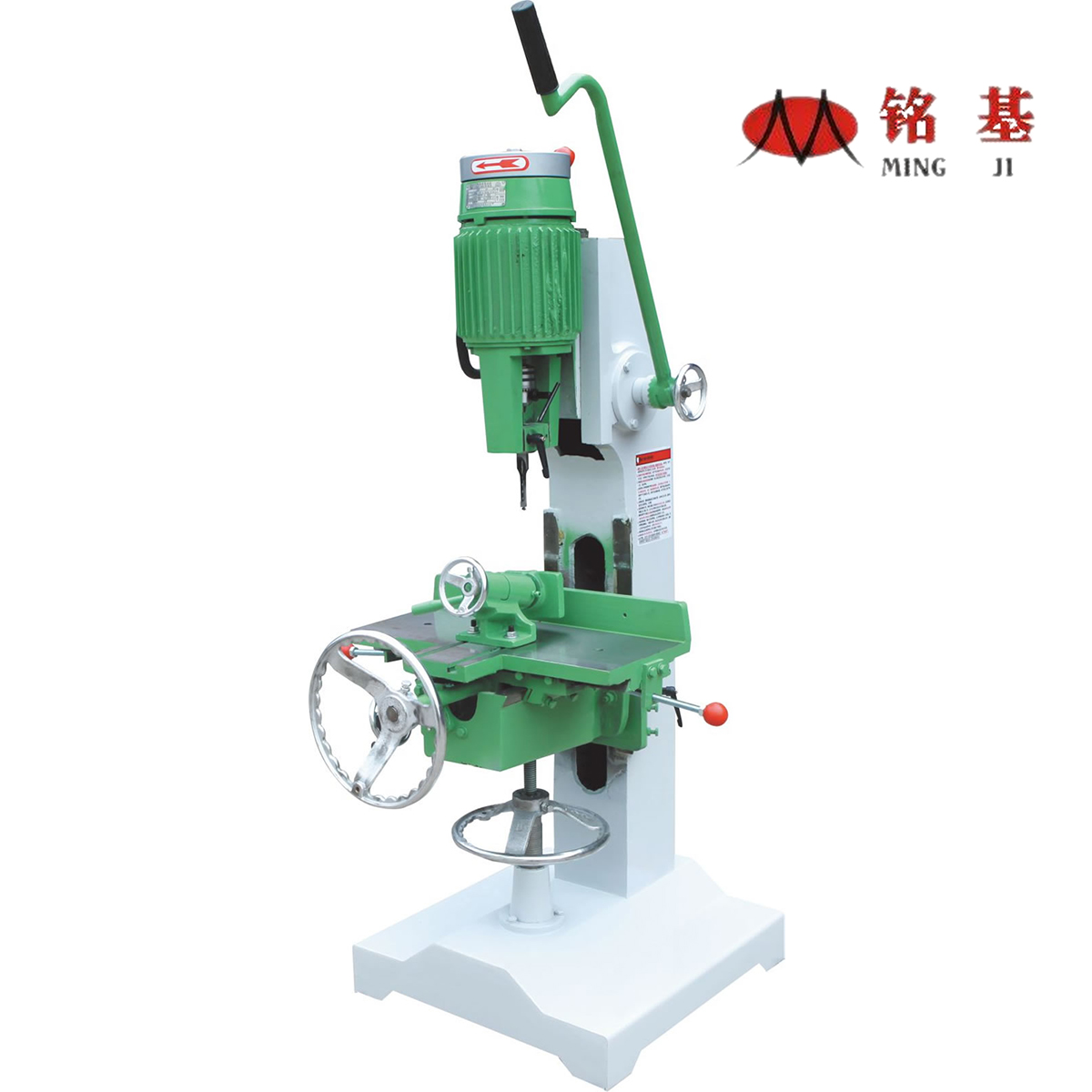 woodworking manual mortising machine