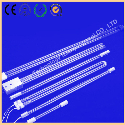 Waste gas treatment u-shaped germicidal lamp, photolysis uv lamp tube, ultraviolet lamp amalgam bacteria high ozone 150W water treatment photooxygen