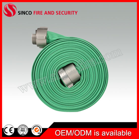 Manufacture Fire Hose Pipe with Connector