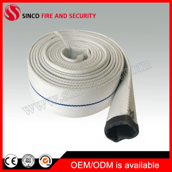 PVC/Rubber Lined Canvas Layflat Fire Fighting Hose