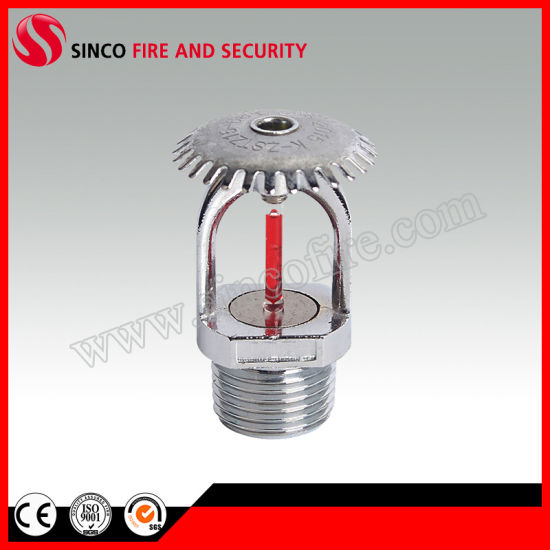 "Chrome Finished 1/2"" Upright Fire Sprinkler"