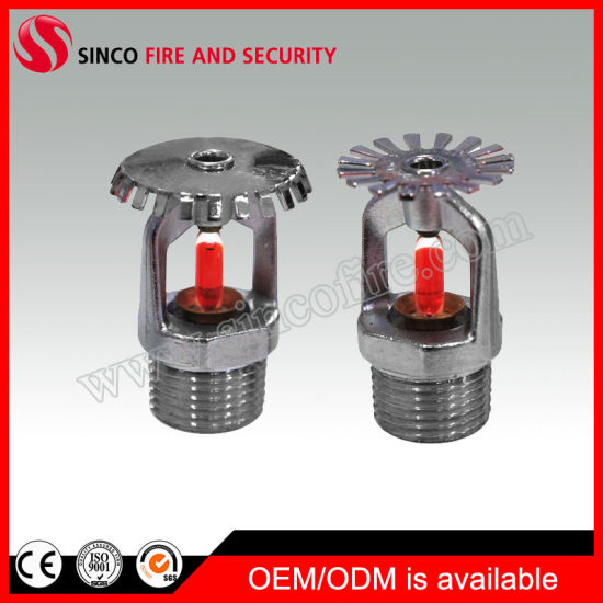 Standard/Quick Response UL Listed Fire Sprinkler