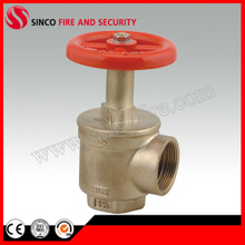 "F2.5"" NPT Inlet and Outlet Fire Hose Angle Valve"