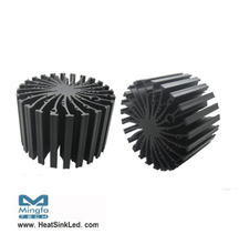 EtraLED-BRI-13080 for Bridgelux Modular Passive LED Cooler Φ130mm