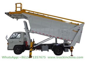 Airport Aircraft Garbage Collector Waste Receiving Vehicle (ISUZU JMC)