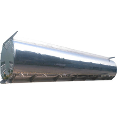Polish Aluminum Tank Body Customizing (Fuel Gasoline Oil Tank For Tanker Trailer Truck)