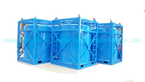 Hydrofluoric Acid Portable IBC Tank Container 5cbm-10cbm Steel Lined LLDPE Tank Used to Contain: HCl, Naoh (max 50%) , Naclo (max 10%) , PAC