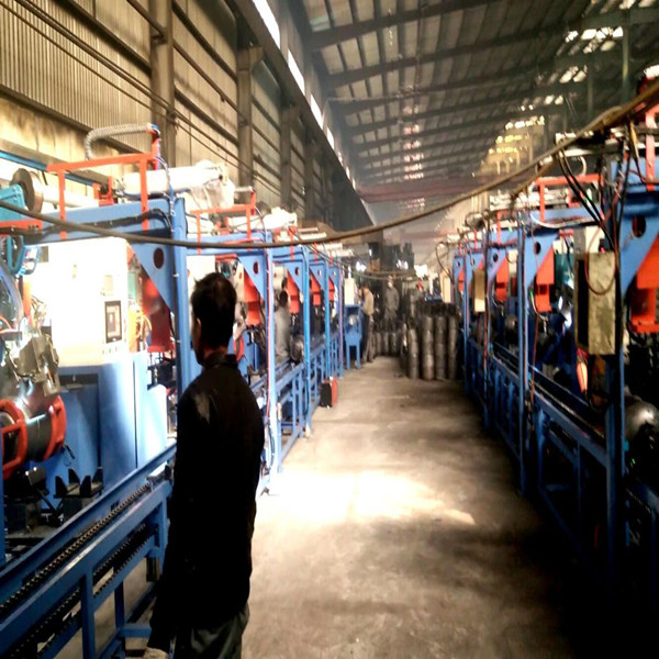 Automatic LPG Gas Cylinder Welding Line