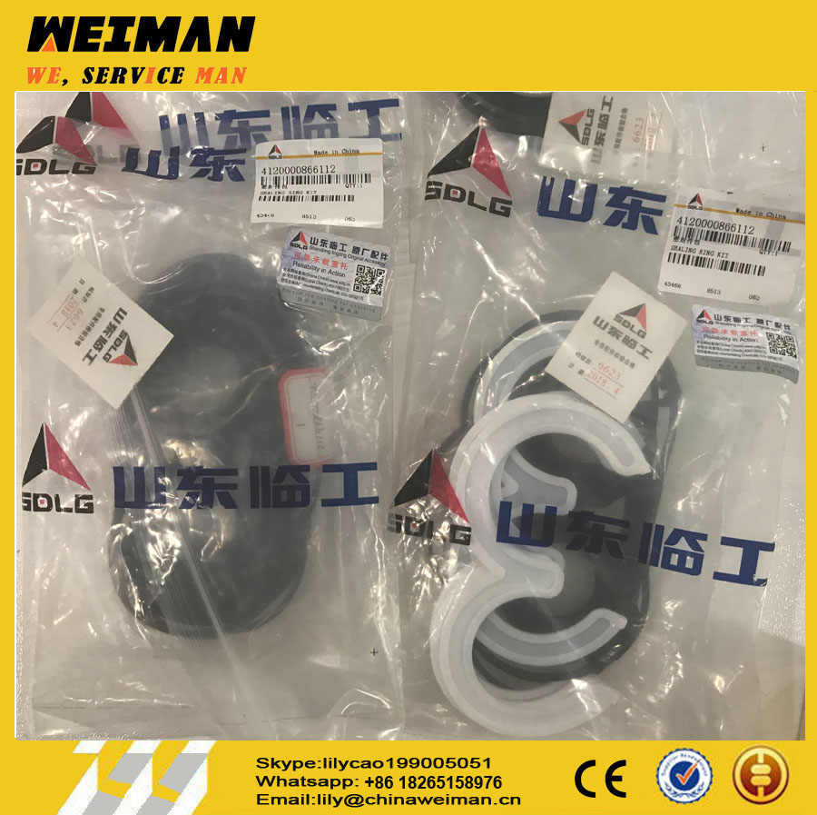 sdlg Original sealing ring kit 4120000866112 from China wheel loader Genuine parts