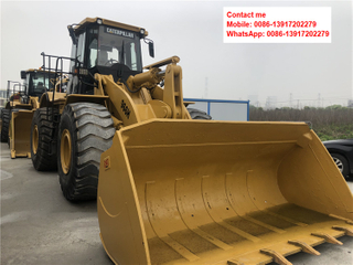 Caterpillar 966H Wheel Loaders in Construction Machines From Shanghai East Focus Machinery Co., Ltd