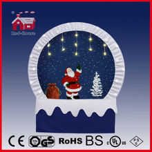 (40110F190-ST3-BS) Snowing Christmas Decorations with Frame-supported and Textile-decorated