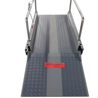 New Portable Wheelchair Lift With Landing Door 600-1200mm Height