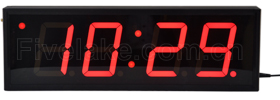 4-digit Clock Display