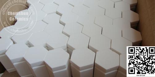 Cerámica Hexagonal de Alta Lúmina