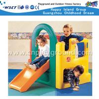 Juguetes de plástico con diapositivas Swing Toddler Playground Equipment (M11-09308)
