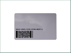 Contact RFID Four Color Printing Gift IC Smart Card