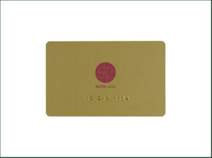 Plastic RFID Inkjet Printable 13.56MHz Smart IC Card for Gift