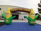 RB21042(8.42x4m) Inflatable Corn Shape Welcome Arch For Commercial Activities