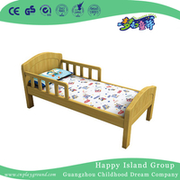 Natural Wooden Toddler Oak School Bed for Salts (HG-6504)