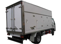 Ice Cream Refrigerated Truck Body with All - Closed FRP / GRP Sandwich Panel Kits,Germany Wet-Wet Composite