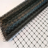 HDPE/PP 16gsm black color planting net/plant support net
