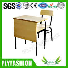 Wood Popular School Desk and Chair (SF-84S)
