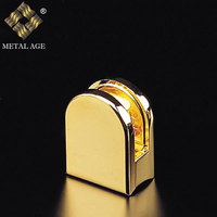 Golden Plate 6mm,8mm Glass Clip