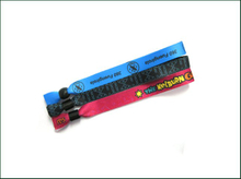 Festival Custom Active UHF RFID Woven Fabric Wristbands for Activities