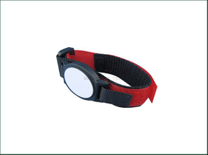 13.56mhz MIFARE Ultralight EV1 Nylon NFC RFID Festival Fabric Wristbands