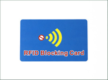 High Quality Signal Blocking RFID Card