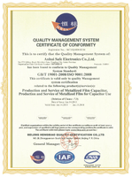 ISO9001 Certification(2015-2018)