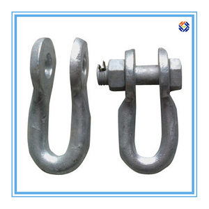 Galvanized Suspension Clamp of Twisted Clevis Steel Spare Parts