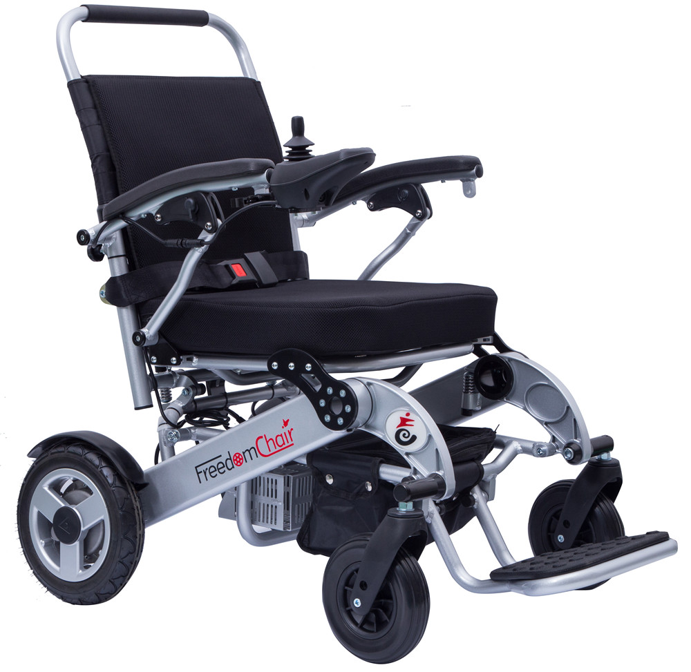 Folding Brushless Motor Electric Wheelchair From China